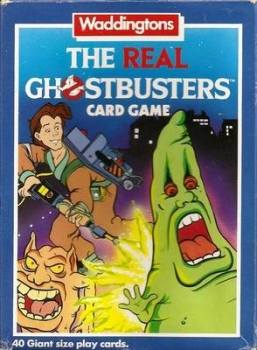 The Real Ghostbusters Card Game - Giant Size Playing Cards - Waddingtons - 1986