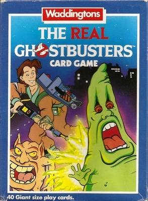 The Real Ghostbusters Card Game - Giant Size Playing Cards - Waddingtons -