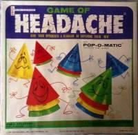 Game Of Headache - Pop-O-Matic - Peter Pan Playthings