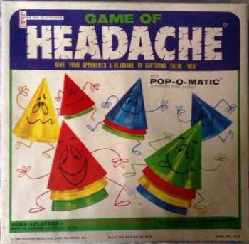 Game Of Headache - Pop-O-Matic - Peter Pan Playthings