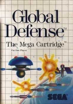 Global Defense (SDI) - SEGA Master System - Case Only