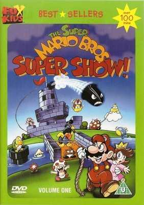 The Super Mario Bros Super Show! : Volume 1 - DVD - RARE
