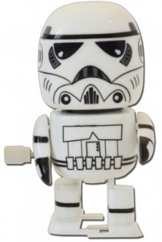Star Wars - Wind-Up Walking Wobbler - Storm Trooper - NEW