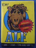 ALF Stickers And Cards - NEW