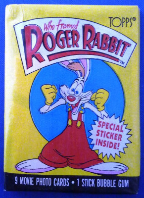 Roger Rabbit Stickers And Cards - NEW