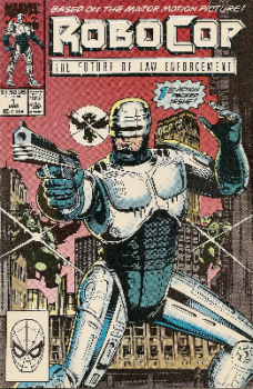 Robocop - Issue 1 - Marvel Comics - RARE
