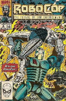 Robocop - Issue 2 - Marvel Comics