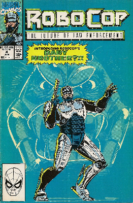 Robocop - Issue 4 - Marvel Comics