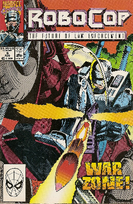 Robocop - Issue 6 - Marvel Comics