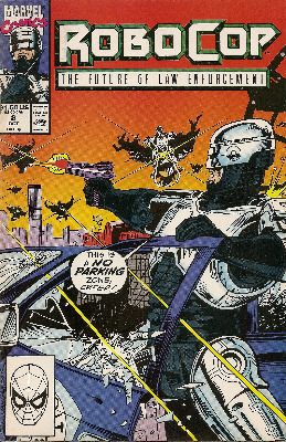 Robocop - Issue 8 - Marvel Comics