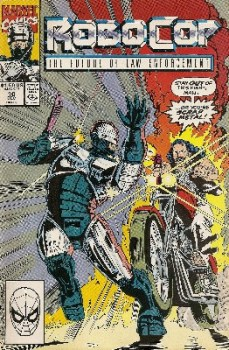 Robocop - Issue 10 - Marvel Comics