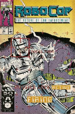 Robocop - Issue 11 - Marvel Comics