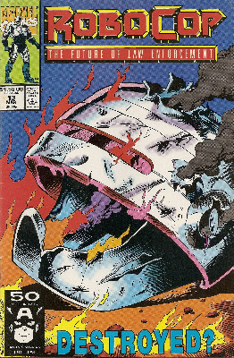 Robocop - Issue 13 - Marvel Comics
