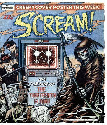 Scream! - Issue 7 - 5th May 1984 - RARE