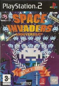 Space Invaders Anniversary - PS2 - Playstation 2 - Taito - Empire Interactive - 2004
