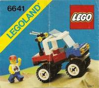 LEGO Instructions - 4-Wheelin' Truck (6641)