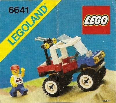 LEGO Instructions - 4-Wheelin' Truck (6641)
