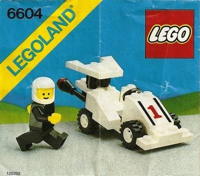 LEGO Instructions - Formula 1 Racer (6604)