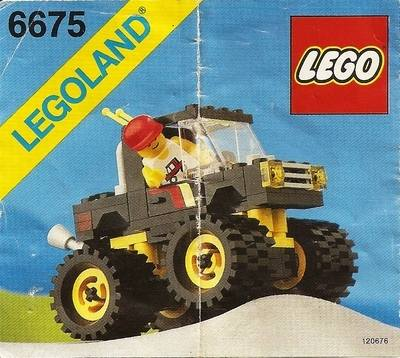 LEGO Instructions - Road & Trail 4 x 4 (6675)