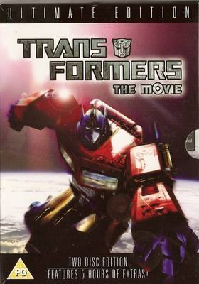 Transformers : The Movie - 2 Disc Ultimate Edition DVD - RARE