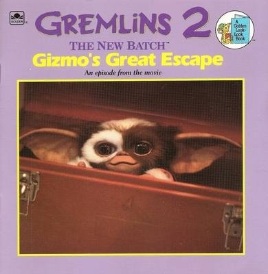 Gremlins 2 : The New Batch - Gizmo's Great Escape Storybook - NEW