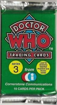 Doctor Who - Trading Cards - Series 3 - Classic Who - NEW