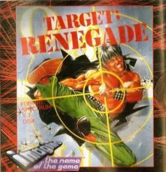Target : Renegade - ZX Spectrum +3 Disk - RARE