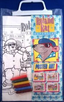 Roland Rat - Poster Art Set - NEW