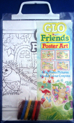 Glo Friends - Poster Art Set - NEW