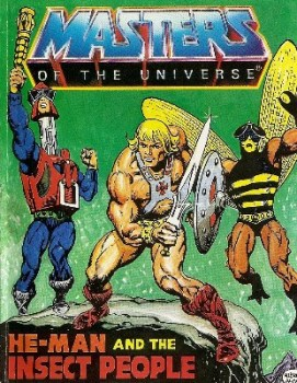 Masters Of The Universe - Mini Comic - He-Man And The Insect People