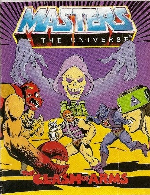 Masters Of The Universe - Mini Comic - The Clash Of Arms