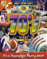 Host Your Own 70s Night - Includes Audio CD - NEW