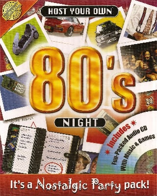 Host Your Own 80s Night - Includes Audio CD - NEW