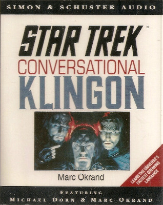 Star Trek - Conversational Klingon (Audio Tape) - NEW