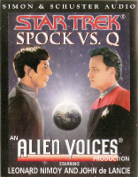 Star Trek - Spock Vs Q - Cassette - NEW