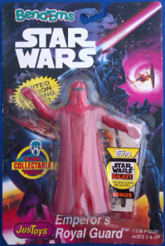 Star Wars - Bend-Ems - Emperor's Royal Guard Figure - NEW