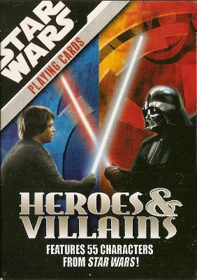 Star Wars - Heroes And Villains - Playing Cards - NEW