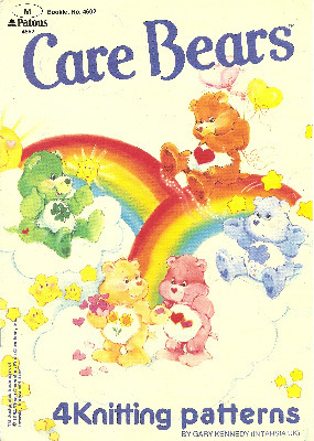 Care Bears Jumpers / Sweaters - Intarsia Knitting Patterns - 4 Designs