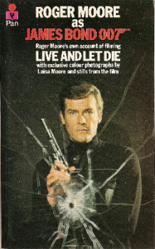 Roger Moore As James Bond 007 : Roger Moore's Own Account Of Filming Live And Let Die - RARE