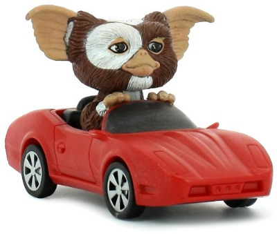 Gremlins - Gizmo In Red Sports Car - Pull Back Action - Neca - NEW