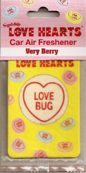 Swizzels Matlow - Love Hearts Car Air Freshener - NEW