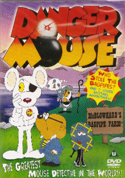 Danger Mouse : Who Stole The Bagpipes? (8 Episodes) - DVD - NEW
