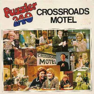 Crossroads Motel Jigsaw Puzzle - 240 Pieces - 1978