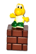 Super Mario - Turtle On Brick Block - Cake Topper / Decoration - NEW