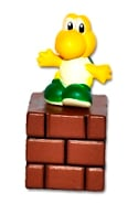 Super Mario - Koopa Troopa On Brick Block - Cake Topper / Decoration - NEW