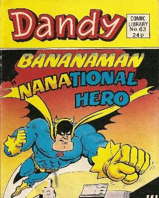Dandy Comic Library - Issue 63 - Nanational Hero