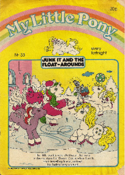 My Little Pony Comic - No. 33 - 1986