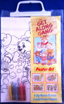 Get Along Gang - Poster Art Set - NEW