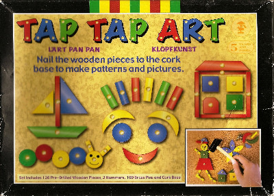 Tap Tap Art - Wooden Picture Making Set