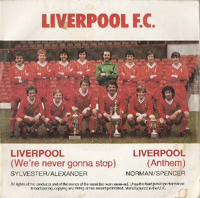 Liverpool FC - We're Never Gonna Stop - Red Vinyl - 7